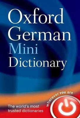 Oxford German Mini Dictionary book
