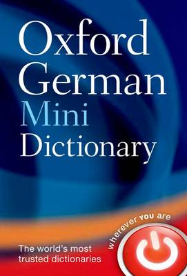 Oxford German Mini Dictionary by Oxford Dictionaries