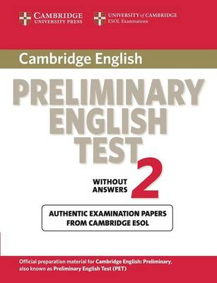 Cambridge Preliminary English Test 2 Student's Book book