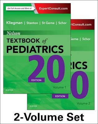 Nelson Textbook of Pediatrics, 2-Volume Set by Robert M. Kliegman