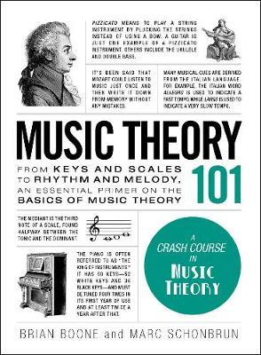 Music Theory 101 by Brian Boone