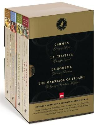 Black Dog Opera Library Box Set: Includes La Boheme, Carmen, La Traviata and The Marriage of Figaro book