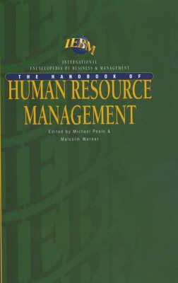 IEBM Handbook of Human Resource Management by Michael Poole