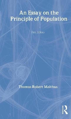 Six Edns Malthus Pop 1798 by T.R. Malthus