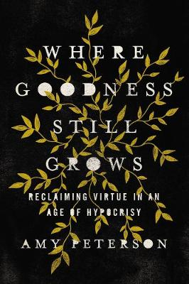 Where Goodness Still Grows: Reclaiming Virtue in an Age of Hypocrisy by Amy Peterson