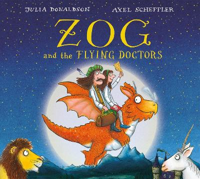 Zog and the Flying Doctors Gift edition board book by Julia Donaldson