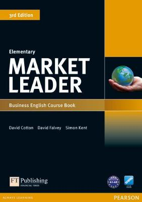 Market Leader 3rd edition Elementary Course Book for pack by David Cotton