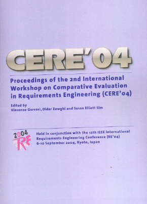 Proceedings of the Second International Workshop on Comparative Evaluation in Requirements Engineering by Vincenzo Gervasi