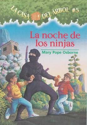 La Noche de Los Ninjas by Mary Pope Osborne