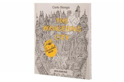 The Wandering City Colouring Book by Carlo Stanga