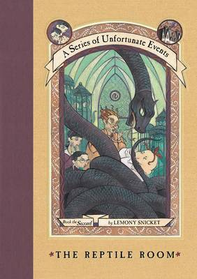 Reptile Room by Lemony Snicket