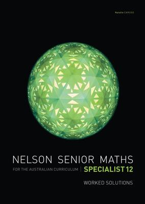 Nelson Senior Maths Specialist 12 Solutions DVD by Margaret Denham