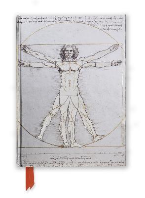 Da Vinci: Vitruvian Man (Foiled Journal) book