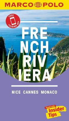 French Riviera Marco Polo Pocket Travel Guide 2018 - with pull out map by Marco Polo