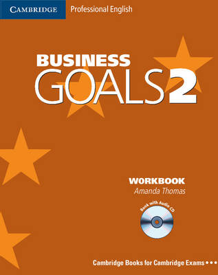 Business Goals 2 Workbook with Audio CD by Amanda Thomas