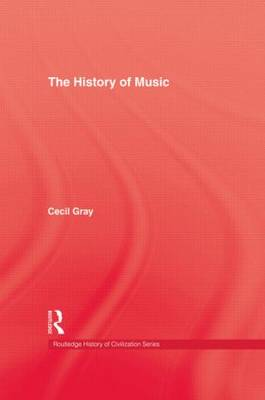 The History of Music by Cecil