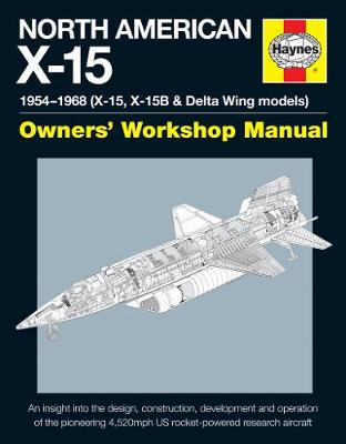 North American X-15 Manual book