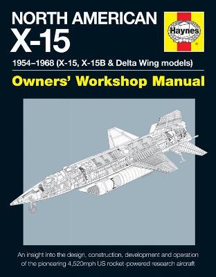 North American X-15 Manual book