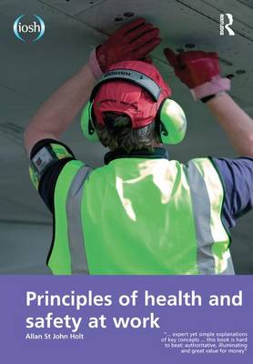 Principles of Health and Safety at Work book