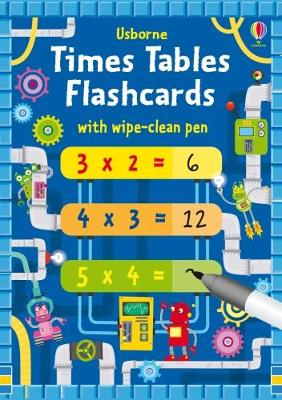 Times Tables Flash Cards book