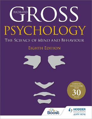 Psychology: The Science of Mind and Behaviour 8th Edition by Richard Gross