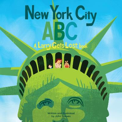 New York City ABC A Larry Gets Lost Book by John Skewes