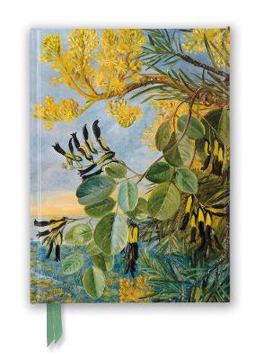 Kew: Marianne North: Flowers of the Flame-Tree and Yellow and Black Twiner, West Australia (Foiled Journal) by Flame Tree Studio