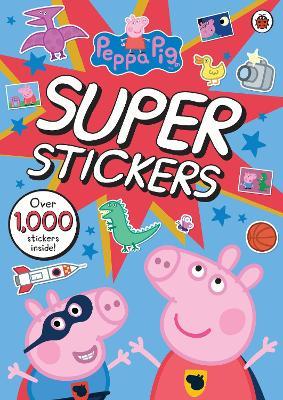 Peppa Pig Super Stickers Activity Book book