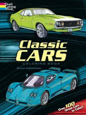 Classic Cars Coloring Book by Bruce LaFontaine