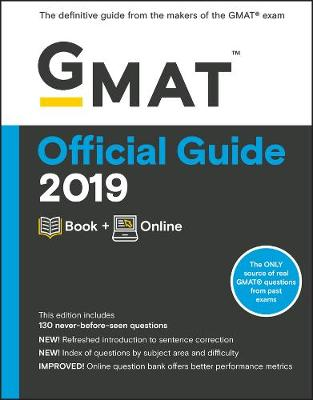 GMAT Official Guide 2019: Book + Online by GMAC (Graduate Management Admission Council)