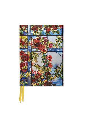 Tiffany: Trellised Rambler Roses (Foiled Pocket Journal) by Flame Tree Studio