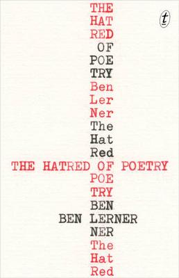 Hatred of Poetry by Ben Lerner