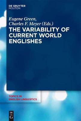 Variability of Current World Englishes by Charles F. Meyer
