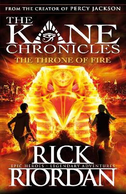 Throne of Fire (The Kane Chronicles Book 2) book