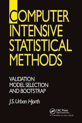 Computer Intensive Statistical Methods: Validation, Model Selection, and Bootstrap book
