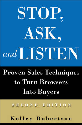 Stop, Ask, and Listen book