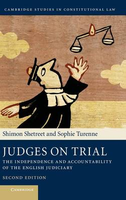 Judges on Trial by Shimon Shetreet