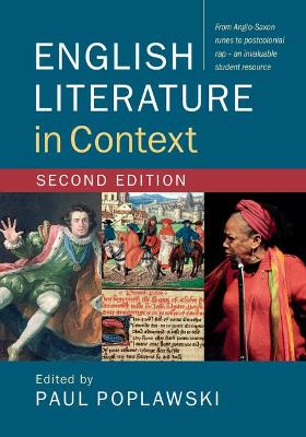 English Literature in Context by Paul Poplawski