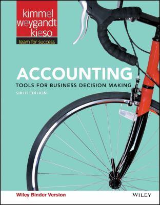 Accounting, 6E Binder Ready Version by Paul D. Kimmel