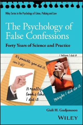 Psychology of False Confessions book
