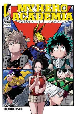 My Hero Academia, Vol. 8 book