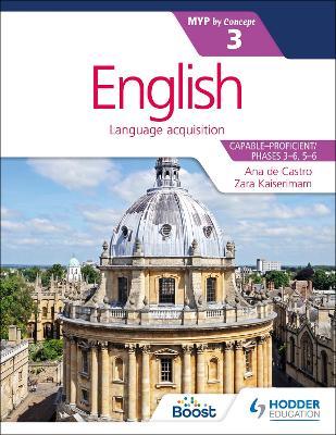 English for the IB MYP 3 by Zara Kaiserimam