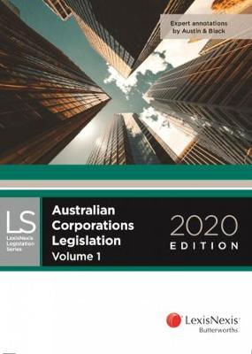 Australian Corporations Legislation 2020 book