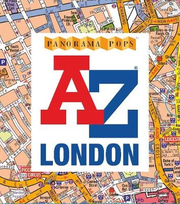 A-Z London: Panorama Pops by Anonymous