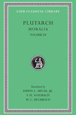 Moralia  v. 9 by Plutarch