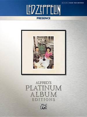 Led Zeppelin -- Presence Platinum Bass Guitar by Led Zeppelin