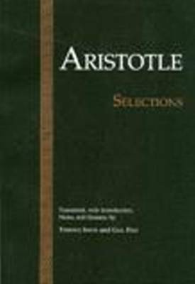 Aristotle: Selections book