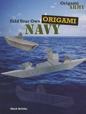 Fold Your Own Origami Navy by Mark Bolitho