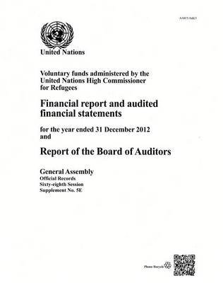Voluntary funds administered by the United Nations High Commissioner for Refugees by United Nations: General Assembly
