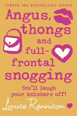 Angus, thongs and full-frontal snogging book